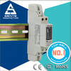 china supplier DDS7666 Type single phase kwh phase din rail narrow mounted electrical digital meter box seal