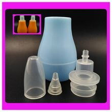 cheap price soft material rubber baby nasal aspirator for promotion