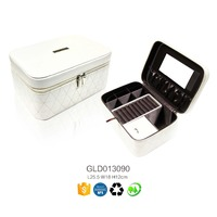 Luxury leather jewelry box from CN with custom logo