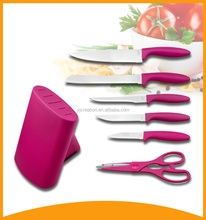 2016 new kitchen utensil color knife and coating knives in bulk