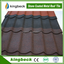2016 hot sale building material roof tiles stone coated metal roofing