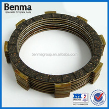 famous brand HF motorcycle clutch plate, friction plate clutch for motorcycle