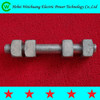 High strength electric power iron tower bolt/ cable bolt threaded/link hardware