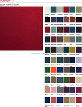 OUTDOOR 113 fabric upholstery vinyl for contract and healthcare furniture with Fire Retardancy