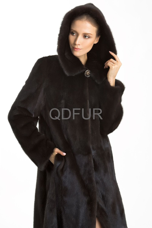 qd70757 gros brown couleur chine ensemble fourrure de vison long manteaux femme en hiver hot. Black Bedroom Furniture Sets. Home Design Ideas