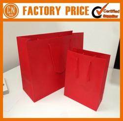 High Quality Logo Custom Cheap Recycled Paper Gift Bag