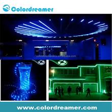 High brightness DMX512 control RGB LED flexible strip/WS2801 addressable LED strip, 8W/M, DC12V