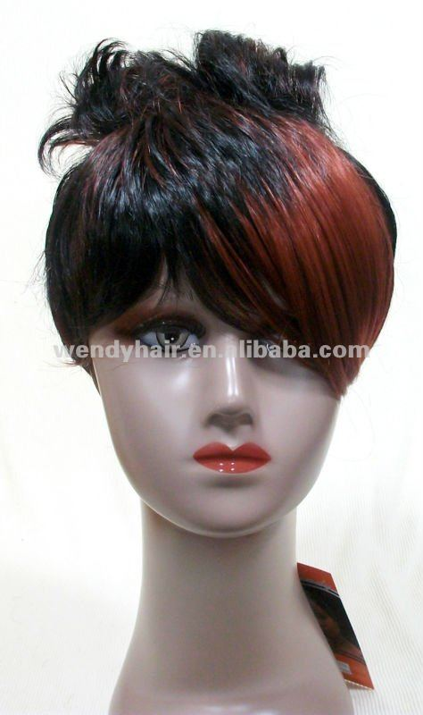Two Tone Synthetic Hair Wigs For Black Women  Buy Two Tone Color WigWig For