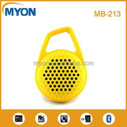 Portable hook wireless bluetooth speaker support TF card enjoy music when outdoor ride bike.clambing