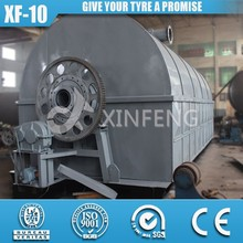 XF-10 52% Oil Yield Rate 100% Environmental Waste Tyre Plastic Machine