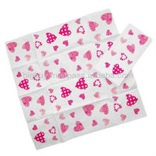 Paper Tissues with Hearts Love