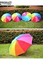 Paraguas del arco iris