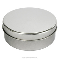 small metal tin round boxes for electronic products goods packing