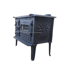 Factory direct selling wood burning cook stove with oven(CBS003)