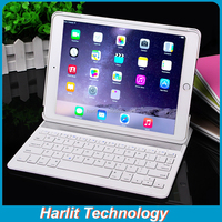 For iPad mini 4 Leather Case Bluetooth Keyboard SlimMagneitc Bluetooth Keyboard Case For Apple iPad Mini 4 Back Light Optional