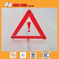Triángulo de advertencia, equipo de emergencia del coche