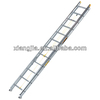 2015 2 x rope operated aluminum ladder, extension ladder