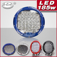 car 9inch 185w high lumens 12v led driving lights
