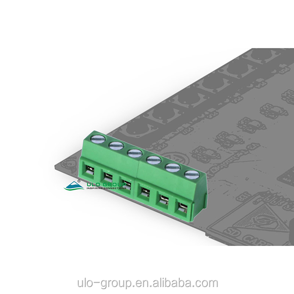 2EDG 5.00mm pitch tornillo para placa PCB