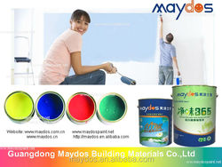 Oil resistant acrylic emulsion wall paint For exterior concrete wall