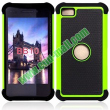 Factory Price Defender Case 3 in One Protective PC and Silicone Front and Back case for blackberry z10
