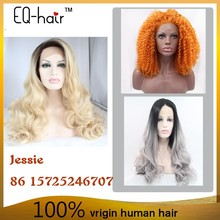 2015 Kanekalon 60 inch synthetic hair synthetic lace wig