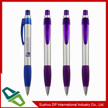 Top Quality Custom Plastic Promotion Pen with Rubber Grip