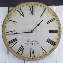 Retro decorative wooden wall clock