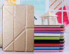 Wholesale Fashion Design Super Thin PU Leather Case For iPad Air,PU+PC Case For iPad Air