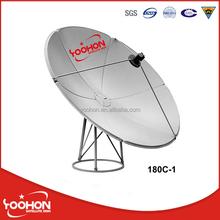 180cm C band big Satellite dish antenna