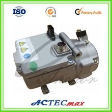 12v compressor for electric car, electric compressor, 12v dc air conditioner compressor