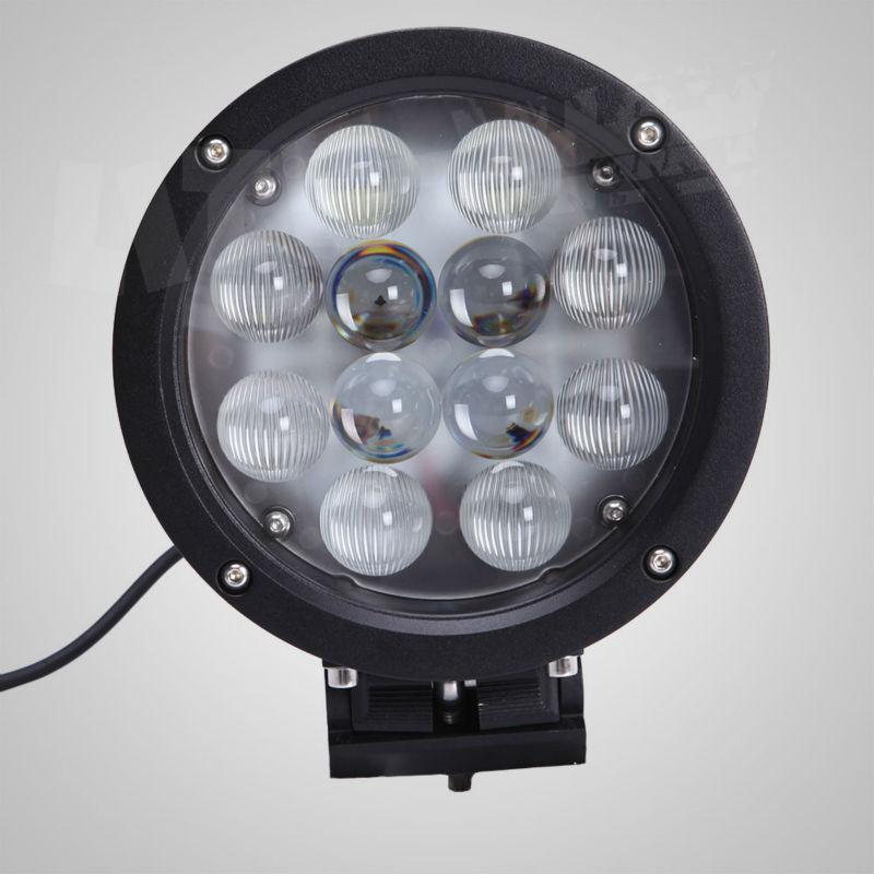 NEW! 7inch 60W LED DRIVING LIGHT LED WORK LIGHT LED OFF ROAD LIGHT 7600 SUV ATV UTV JEEP