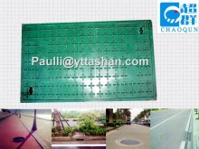 564X564mm Water Meter Frp square Manhole Cover