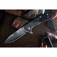 Global Knives Kizer Ki302F Folding Knife Damascus VG-10 Blade Titanium Handle