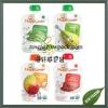 custom hot sale vegetable fruit juice pacakging spout bag 3.5oz