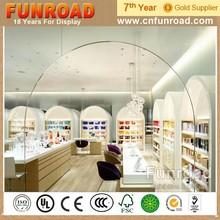 Bespoke Wood Exhibition Cosmetic Store Interior Design