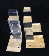 15 years' experienced manufacture Tapered Acrylic Bench Leg, Acrylic Furniture Legs, Lucite Furniture Legs