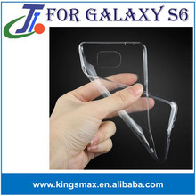 hot china products wholesale slim invisible mobile phone cases transparent tpu cover case for S6,tpu case for printing,custom de