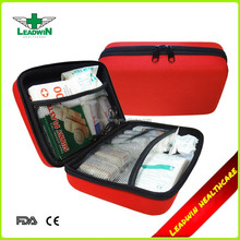 with inner contents by Germany DIN 13164 standard EVA first aid bag