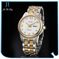 Mechanical wrist watch stainless steel chain wrist watch trendy Chinese wholesale