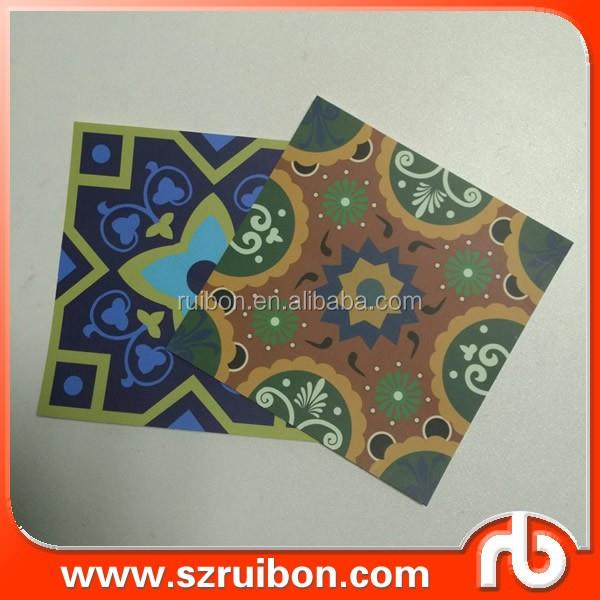 amovible autocollant carrelage salle de bains peel bton vinyle stickers muraux tuiles stickers muraux - Stickers Tuile Vinyle Salle De Bain