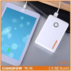 New Cargador portatil 10400 mah power bank batteries Of LG18650 dual usb port output 5V/2.1A for smartphone and tablet PC