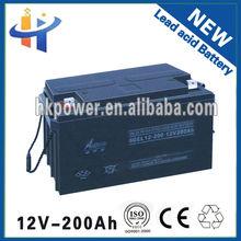 Best price 12v 200ah electric car batteries sale