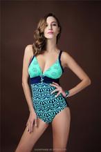 Women Fashion Novelty 2015 Sexi Hot Girl Bikini Black One Piece Swimwear Bikini