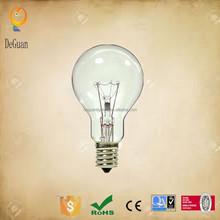 Intermediate Base Ceiling Fan Incandescent Light Bulbs 25 Watt A15 Clear Ceiling Fan Bulb