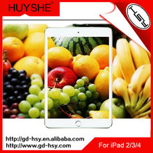 HUYSHE Premium tempered glass screen protector for ipad 2/3/4,high clear glass.