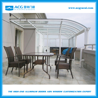 Wholesale new age products crazy selling aluminum veranda winter garden