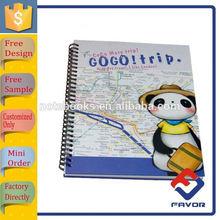school supplies custom composition spiral bound school cute notebooks for student