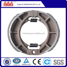 high quality motorcycle spare parts brake shoe