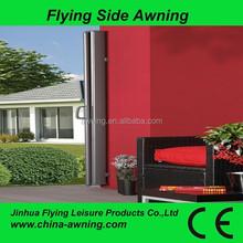 side aluminium adjustable awning /car roof side awning